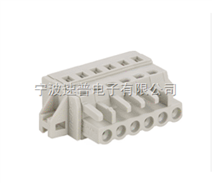 2-24通道孔型连接器带固定器(SP450白灰色防错插型)