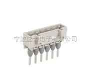 2-24通道直长针插座(SP450白灰色防错插)