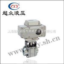 Q11N-160C电动高压丝口球阀
