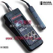 哈纳-防水便携式电导率测定仪 -=型号:HANNA HI9033