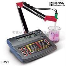 哈纳仪器专卖/台式实验室酸度计/ORP/温度测定仪  型号:HANNA HI 221C