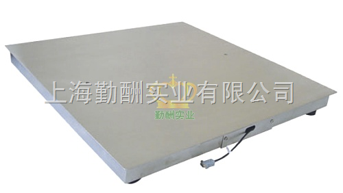 V8小地磅(1*1.2)不锈钢单层地磅/碳钢小地磅