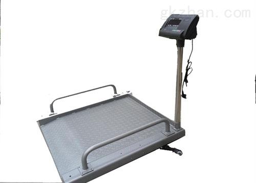 進口血液透析輪椅秤,透析用輪椅電子秤