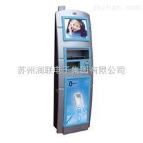 带视频广告可投币手机充电站