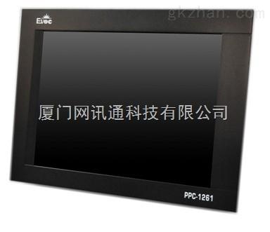 研祥触摸LED高亮工业级显示屏PPC-1261 可触摸式12寸液晶触控屏