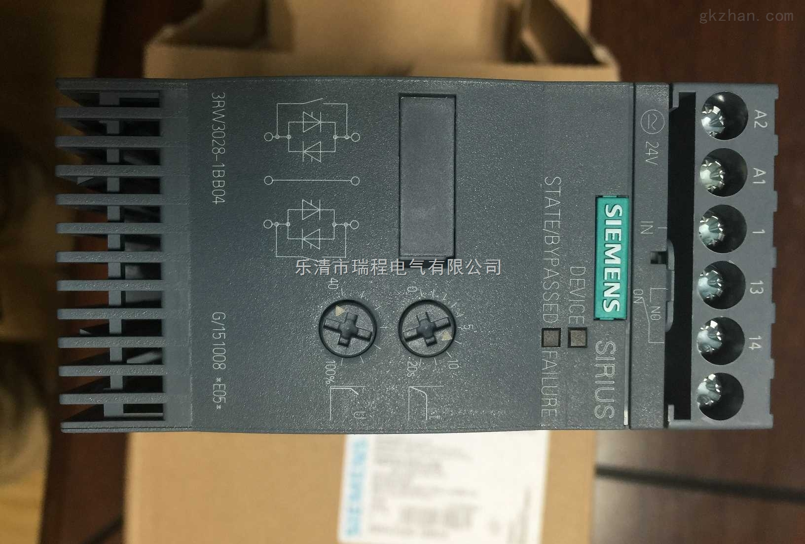 3rw30162bb14西门子软启动器