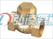 供应H14W铜阀门,黄铜止回阀