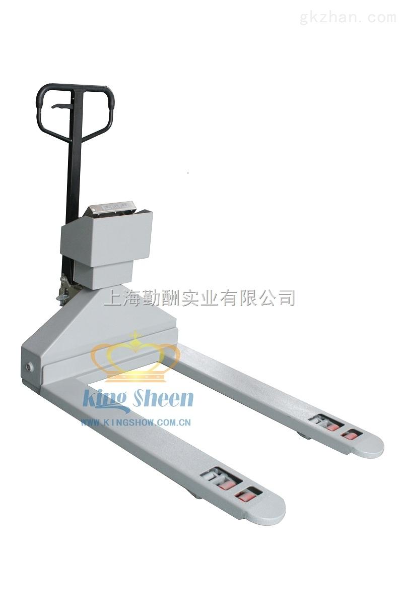 吉林省YCS-2T地老虎1-3吨电子叉车秤