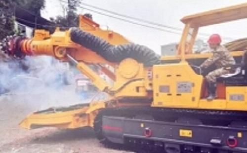 徐工新款XTR6/260隧道掘进机助力轨道交通建设