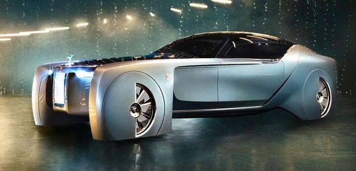 劳斯莱斯发布首款无人驾驶概念车