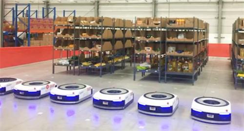 天貓御用倉儲機器人極智嘉工作流程