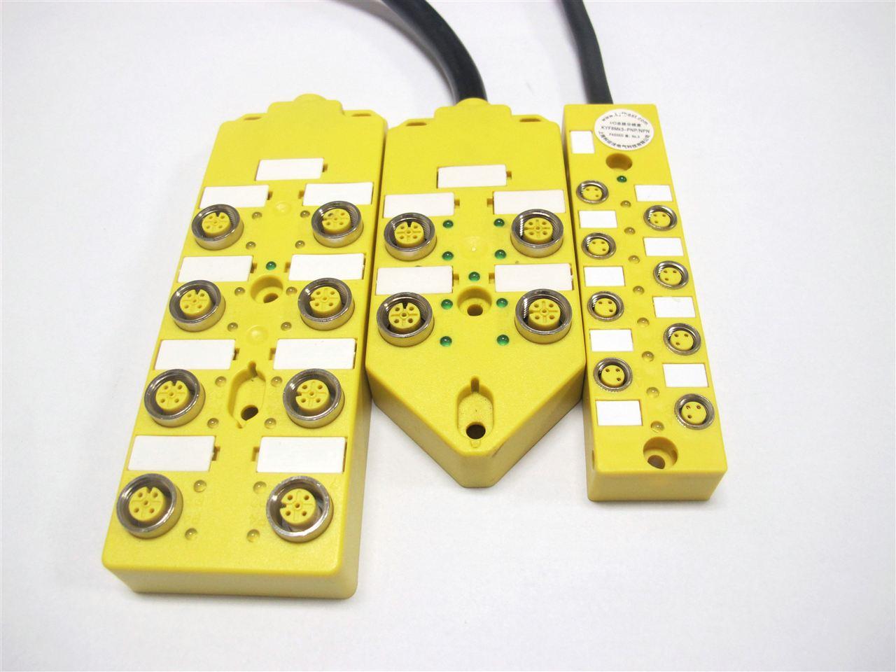 科迎法特别值得指出的是M12多接口分线盒是为实现从控制柜到现场一致的插入解决方案而设计的。