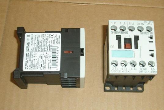 西门子交流接触器3rt1017-1af01