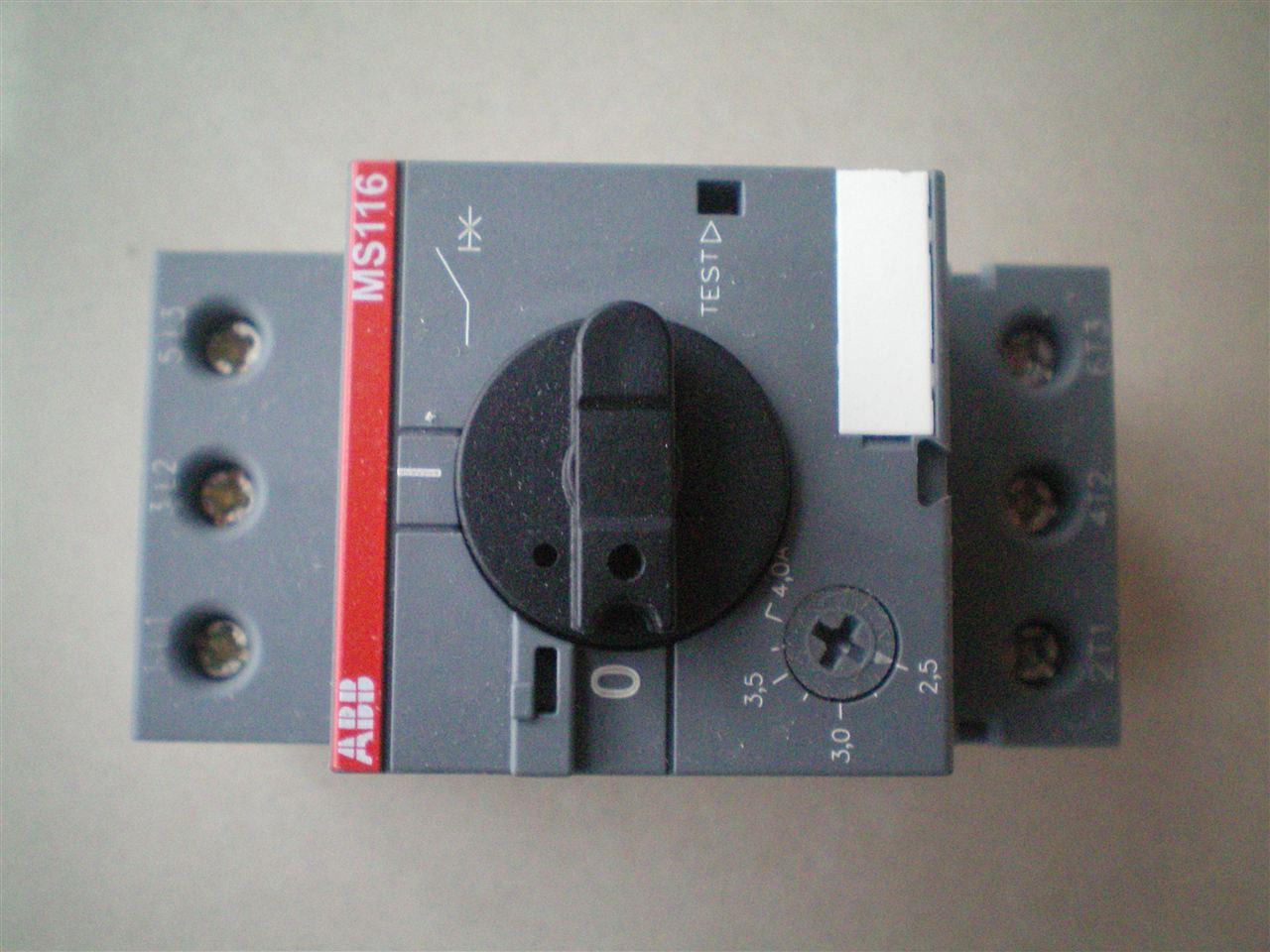 abb电动机起动器ms325-6.