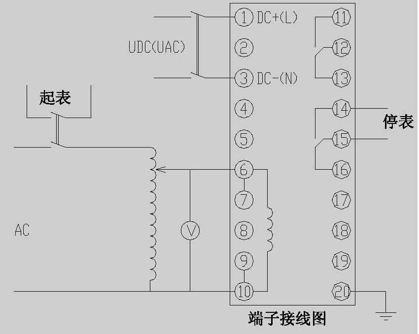 子排型电压电流继电器