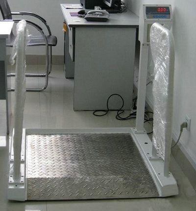 300公斤轮椅平台秤,血透电子秤
