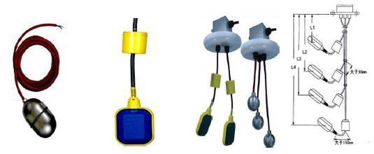 220伏接触器和浮球阀接线实际图