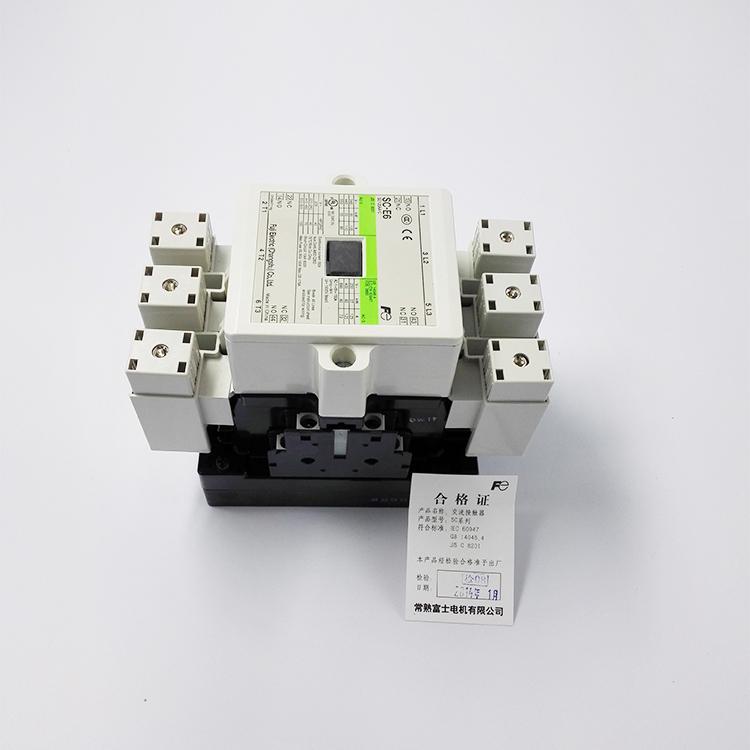 控制交流电动机,并可与适当的热继电器组合以保护