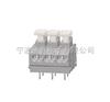 2线式PCB接线端子排带按键-侧面接线(5.0/5.08间距)